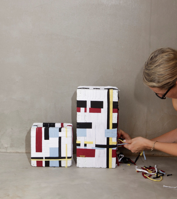 A tribute to Mondrian